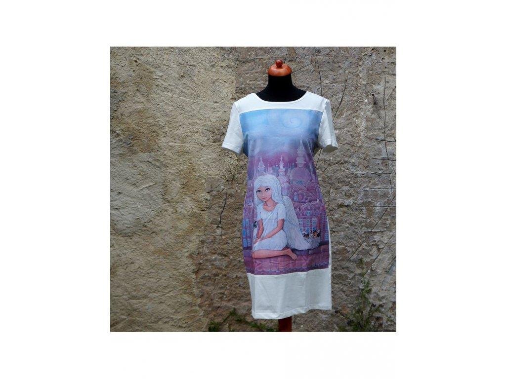 Šaty - Andělka a koťata (42)