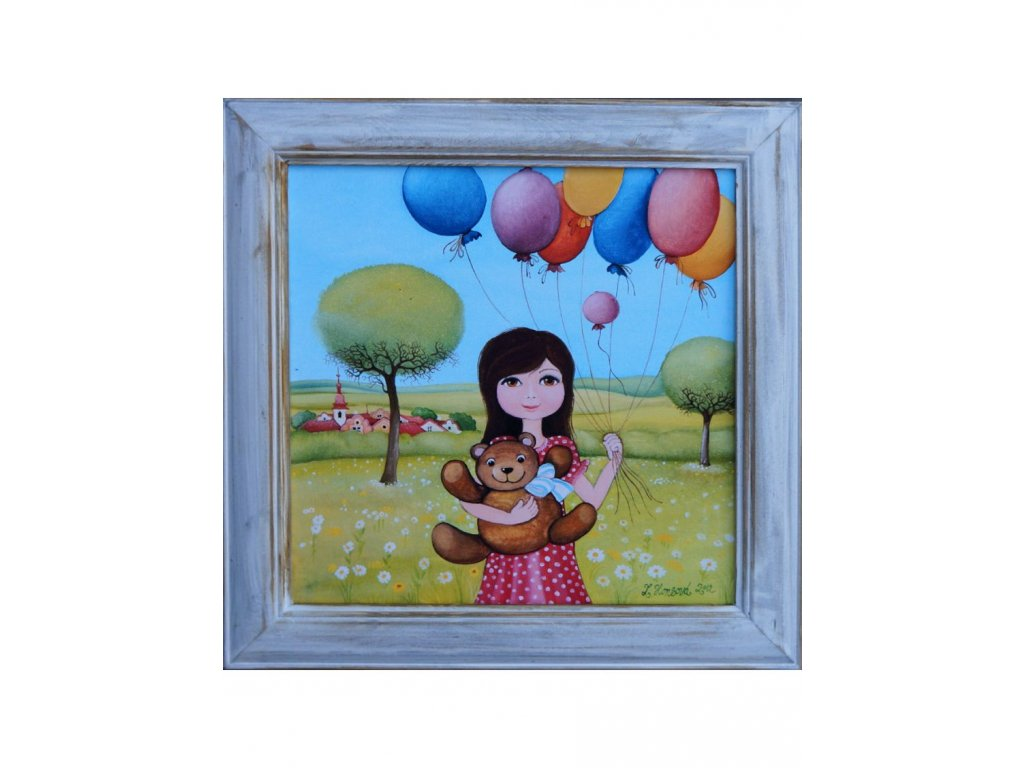 Mám medvěda a balonky