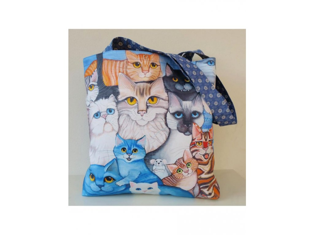 Kočky - velká taška