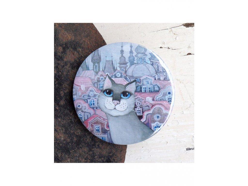 Kočka v růžovém městě 97