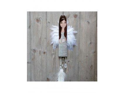 Andělka  pro nemocné - andělka se zlomenou rukou