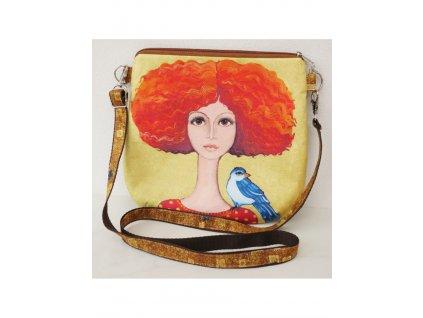 Zrzka s ptáčkem - kabelka