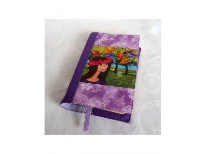 Obal na knížku - Růženka a ptáci