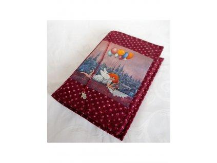 Andělka co ráda dortíky - obal na knížku