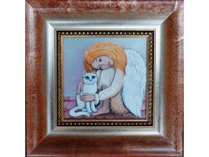 Andělka a kočička