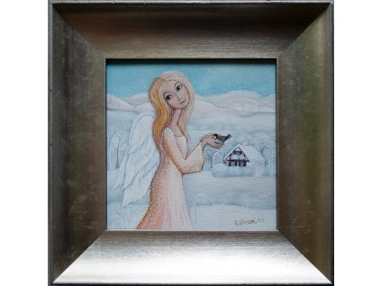 Zimní andělka