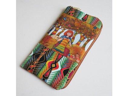 Obal  na mobilní telefon - Náruživá pletařka