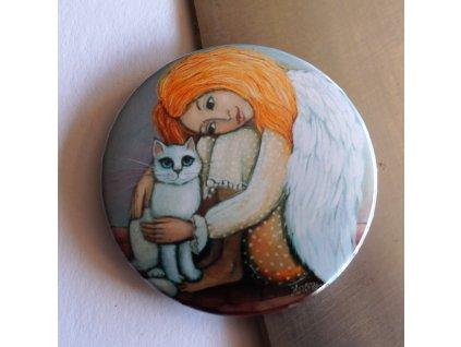 Andělka s kočičkou
