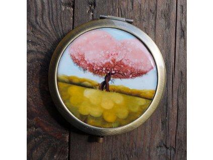 Zamilované stromy - zrcátko