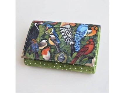 Ptáci - peněženka menší