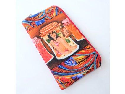 Obal  na mobilní telefon - Dobře naložená žena