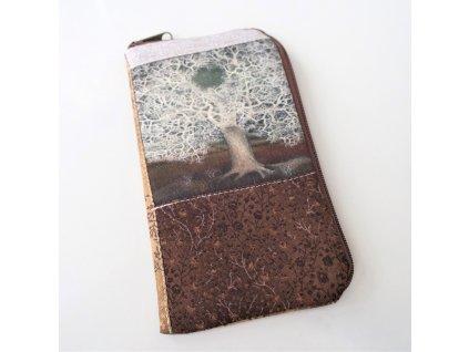 Obal  na mobilní telefon - Krajkový strom