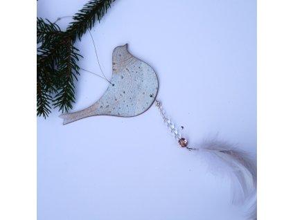 Vánoční ozdoba - Ptáček