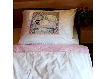 Povlečení na jednolůžko - Odpolední spánek