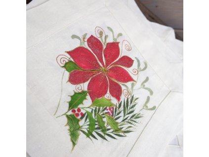 Prostírání malované vánoční