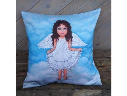 Až vyrostu budu baletkou - polštář bavlna