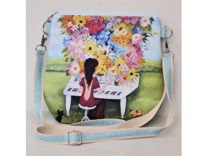 Kouzelný klavír - kabelka