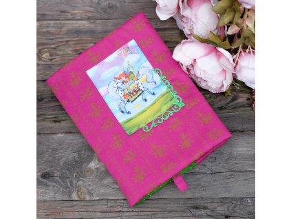 Andělka co má ráda Pipi -  obal na knížku