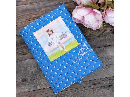 Andělka pro zahradnici -  obal na knížku