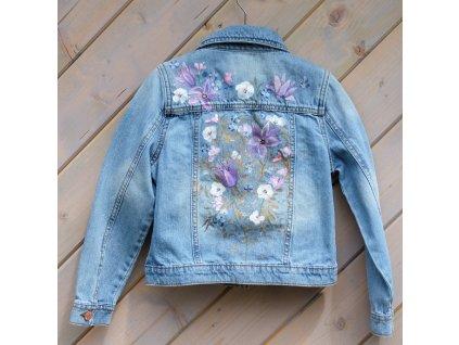 Dětská jeansová bundička 128