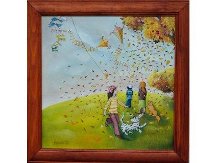 Rozfoukaný podzim