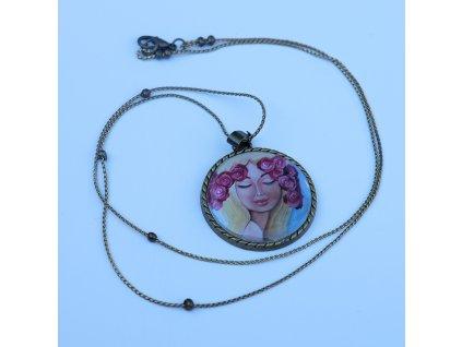 Náhrdelník - Růženka