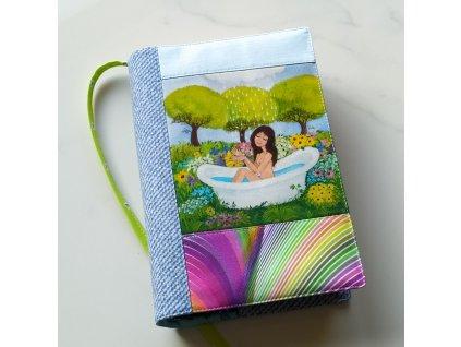 ve vaně - obal na knížku