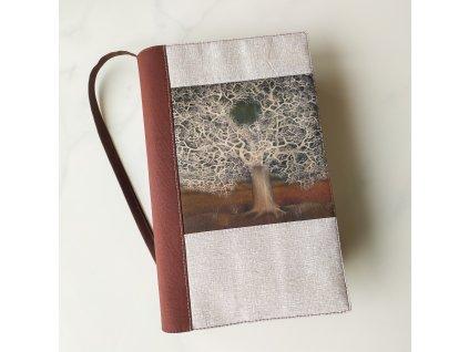 Krajkový strom - obal na knížku