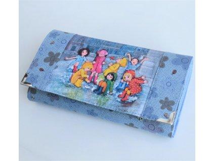 Prší - peněženka 17 cm i na karty