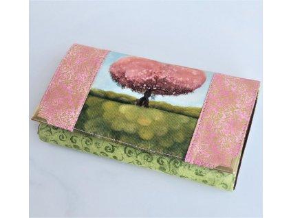 Zamilované stromy -  peněženka 17 cm i na karty