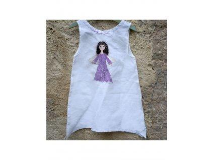 """Len - košilka od andělky (""""Andělka"""" ) - velikost 104"""