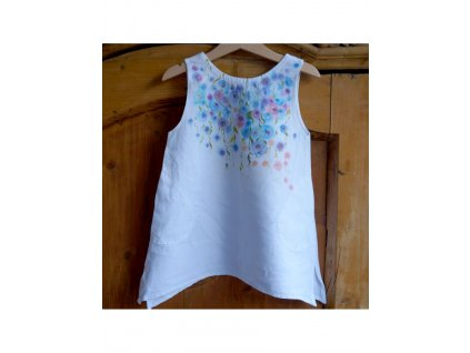 Len 98 - košilka od andělky - rozkvetlé