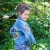 Dětská jeansová bundička 134