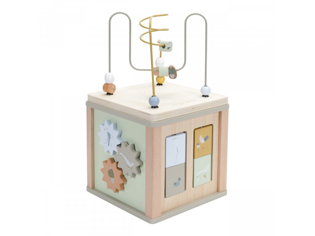 LD 7030 Activity Cube Olive 2 scaled