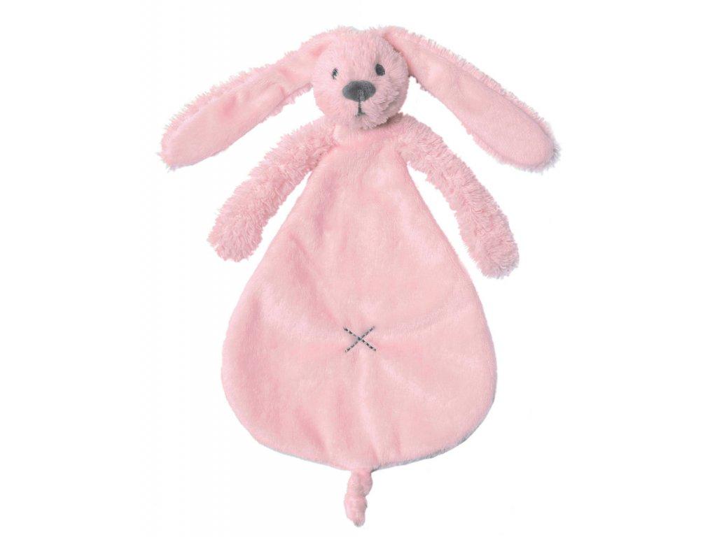 Happy Horse   Přítulka králíček Richie růžový Velikost: 25 cm
