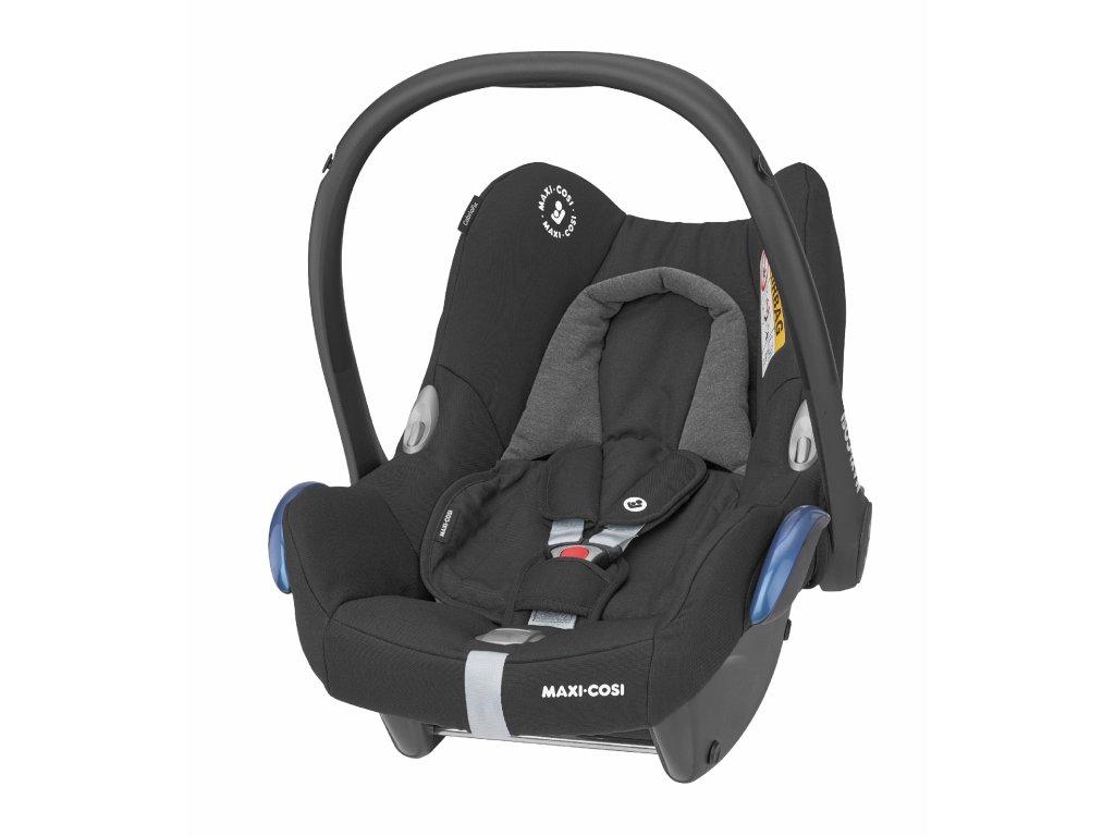 CabrioFix autosedačka Essential Black