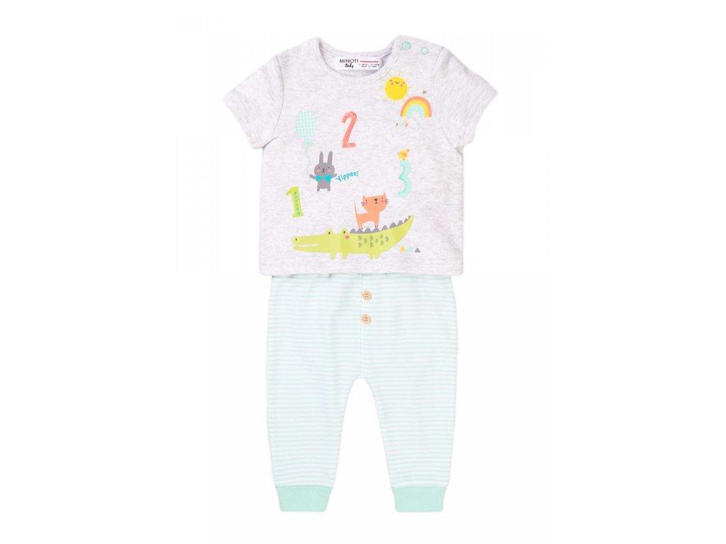 Kojenecký set, tričko a tepláky, Minoti, Numbers 2, kluk