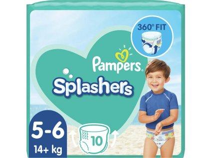 PAMPERS Pants Splashers Carry Pack vel. 5 (14+ kg), 10 ks - jednorázové pleny do vody