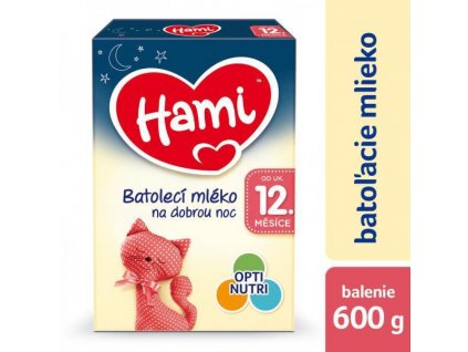 HAMI 12+ Na dobrou noc (600 g) - kojenecké mléko