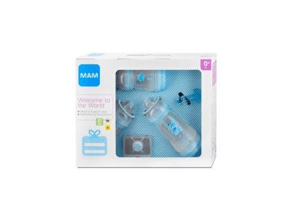 MAM Novorozenecký dárkový set malý modrý