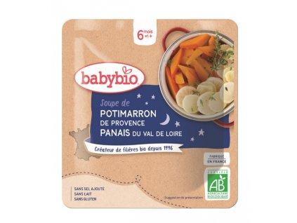 BABYBIO Dýňová polévka s pastinákem (190 g)