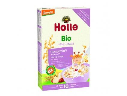 HOLLE Organické junior müsli vícezrnné s ovocem, 250 g