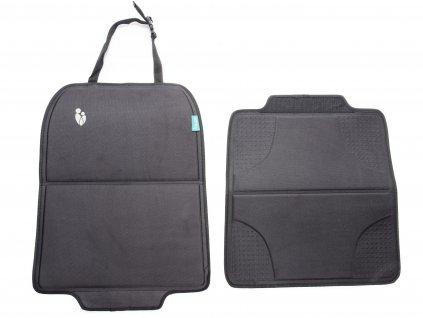 Pevná ochrana sedadla pod autosedačku