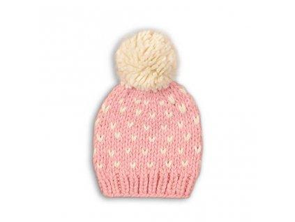 Čepice dívčí, Minoti, HAT 13, růžová