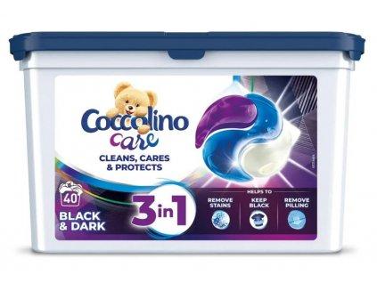 COCCOLINO Care kapsle Černé a tmavé prádlo 40 praní