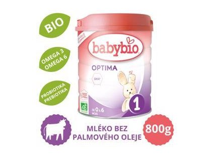 BABYBIO OPTIMA 1 kojenecké bio mléko (800 g)