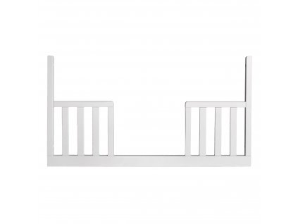 SCANDY výměnný bok postýlky 120x60cm bílý