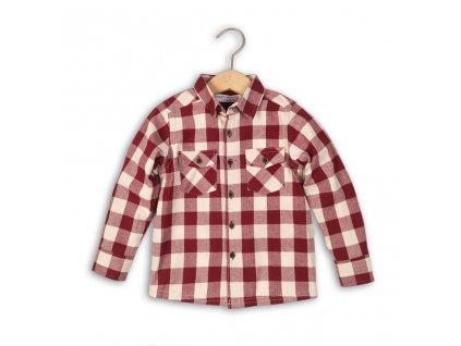 Košile chlapecká, Minoti, ALASKA 3, červená