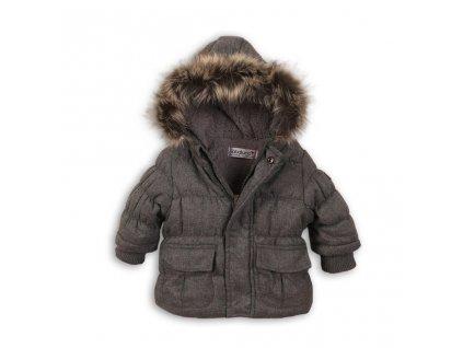 Bunda zimní kojenecká vyteplená, Minoti, SKETCHY 8, šedá