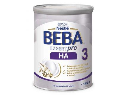BEBA EXPERTpro HA 3, Mléčná pokračovací kojenecká výživa 800 g
